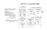 T5 T6 Laderaumverkleidung Seite links vorne Teil 1