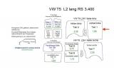 T5 T6 Laderaumverkleidung Seite links Teil 1