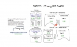 T5 T6 Laderaumverkleidung Seite links Mitte Teil 11