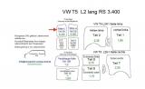 T5 T6 Laderaumverkleidung Tür hinten links Fensterfeld Teil 5A