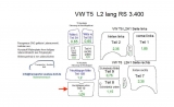 T5 T6 Laderaumverkleidung Heckklappe unten Teil 12