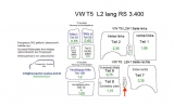T5 T6 Laderaumverkleidung Seite rechts Mitte Teil 17