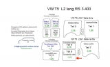 T5 T6 Laderaumverkleidung Schiebetür unten Teil 8