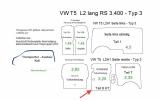 T5 T6 Laderaumverkleidung Schiebetür Teil 8HT - vollflächig