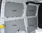 Custom kurz L1 Seitenverkleidung Seite links vorne unten T1A