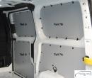 Custom kurz L1 Seitenverkleidung Schiebetür Fensterfeld T9