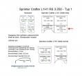 Sprinter/Crafter Laderaumverkleidung Seite vorne links unten Teil 1A