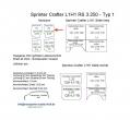 Sprinter/Crafter Laderaumverkleidung Tür hinten links Fensterfeld Teil 5A