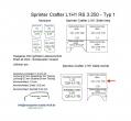 Sprinter/Crafter H1 Laderaumverkleidung Seite hinten rechts oben Teil 7B
