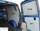 T4 L2 - Seitenverkleidung Schiebetür Fensterfeld - T9