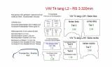 T4 L2 - Seitenverkleidung Heckklappe Fensterfeld T12B