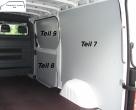Sprinter neu L1H1 Laderaumverkleidung Schiebetür unten Teil 8