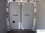 Sprinter neu L3 Laderaumverkleidung Tür hinten links vollflächig Teil 15A