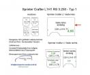 Sprinter/Crafter H1 Laderaumverkleidung Seite links einteilig Teil 1