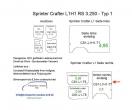 Sprinter/Crafter H1 Laderaumverkleidung Seite hinten rechts einteilig Teil 7