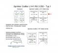 Sprinter/Crafter H1 Laderaumverkleidung Seite vorne links oben Teil 1B