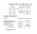 Sprinter/Crafter H1 Laderaumverkleidung Seite hinten links oben Teil 2B
