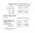 Sprinter/Crafter Laderaumverkleidung Tür hinten rechts Fensterfeld Teil 5B