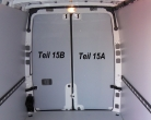 Sprinter/Crafter Laderaumverkleidung Tür hinten links vollflächig Teil 15A