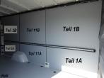 Sprinter/Crafter Laderaumverkleidung Seite vorne links oben Teil 1B
