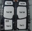 **Sprinter/Crafter Laderaumverkleidung Tür hinten links oben Teil 6A