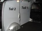 Vito lang L2 Laderaumverkleidung Seite links hinten Teil 2