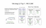 Vito lang L2 Laderaumverkleidung Tür hinten links unten Teil 3