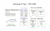 Vito lang L2 Laderaumverkleidung Tür hinten links Fensterfeld Teil 5A