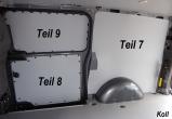 Vito lang L2 Laderaumverkleidung Schiebetür unten Teil 8