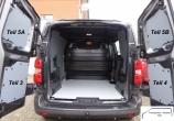 Expert L1 Jumpy XS ProAce Compact Laderaumverkleidung Tür hinten links Fensterfeld Teil 5A