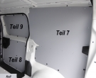 Expert L2 Jumpy M ProAce L1 Laderaumverkleidung Schiebetür unten Teil 8