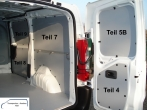 Expert Jumpy ProAce Laderaumverkleidung Alu Tür hinten rechts Fensterfeld Teil 5B