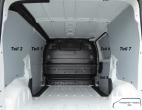 Expert L1 Jumpy XS ProAce Compact Laderaumverkleidung Schiebetür Fensterfeld Teil 9