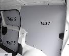 Expert L2 Jumpy M ProAce L1 Laderaumverkleidung Alu Schiebetür Fensterfeld Teil 9
