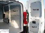 Expert Jumpy ProAce Laderaumverkleidung Tür hinten rechts Fensterfeld Teil 5B