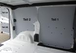 Expert L3 Jumpy XL ProAce L2 Laderaumverkleidung Tür hinten links Fensterfeld Teil 5A