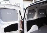Combo L1 neu ab 12/2018 Seitenverkleidung Tür hinten links Fensterfeld T5A