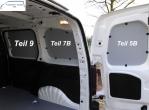 Combo L1 neu Seitenverkleidung Tür hinten rechts Fensterfeld T5B