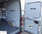 Maxus EV 80 L2 Seitenverkleidung Schiebetür Fensterfeld T9