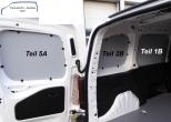 Combo L1 neu Seitenverkleidung Tür hinten links Fensterfeld T5A