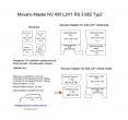 Movano Master NV 400 Laderaumverkleidung Schiebetür unten Teil 8