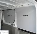 Vivaro Trafic Primastar Laderaumverkleidung Seite hinten rechts oben Teil 7B