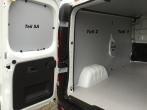 Vivaro Trafic Primastar Laderaumverkleidung Tür hinten links Fensterfeld Teil 5A