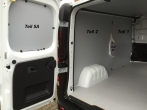 Vivaro Trafic NV300 Laderaumverkleidung Tür hinten links Fensterfeld Teil 5A