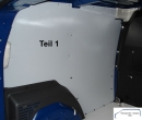 Citan L2 - Kangoo L1 Seitenverkleidung Seite links T1