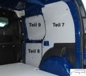 Citan L2 - Kangoo L1 Seitenverkleidung Schiebetür unten T8