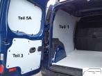 Citan L3 - Kangoo L2 Seitenverkleidung Tür hinten links Fensterfeld T5A