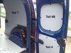 Citan L3 - Kangoo L2 Seitenverkleidung Tür hinten rechts Fensterfeld T5B