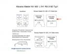 Movano Master NV 400 Laderaumverkleidung Seite links einteilig Teil 1