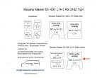 Movano Master NV 400 Laderaumverkleidung Seite hinten rechts einteilig Teil 7